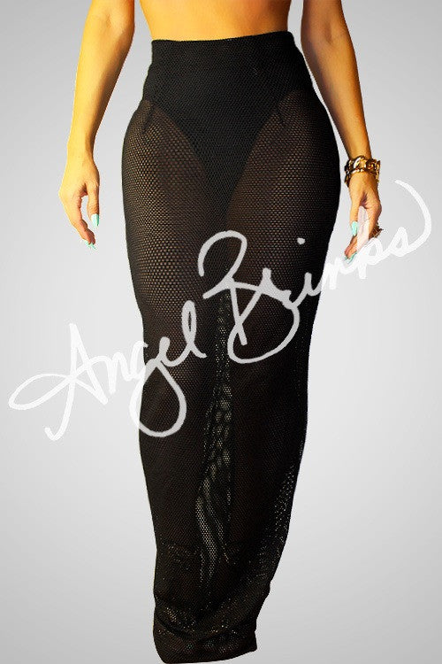 Net Skirt (Black)