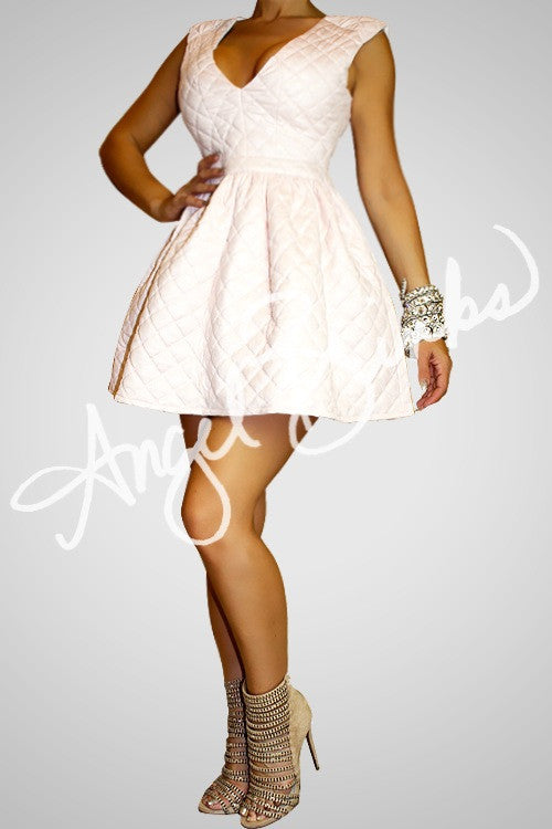 So Chanel Babydoll Dress (Soft Pink)