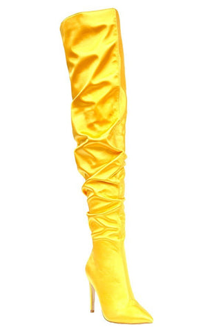Star Status Boots (Yellow/Gold)
