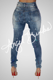 Asteroid Denim (with fray)