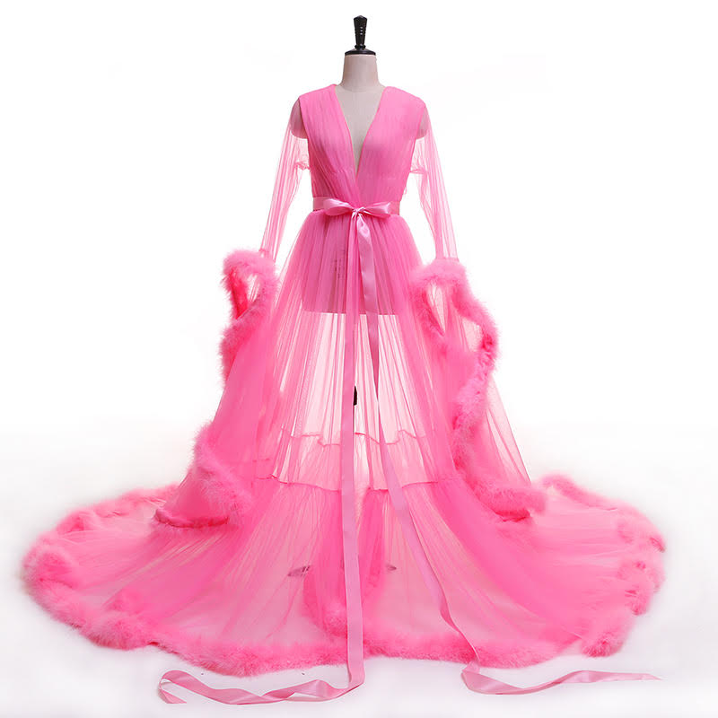 Rich Robe (Hot Pink)