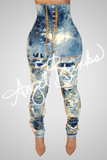 Gold Rush Corset Jeans