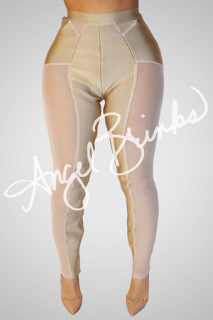 La Creme Bandage Leggings