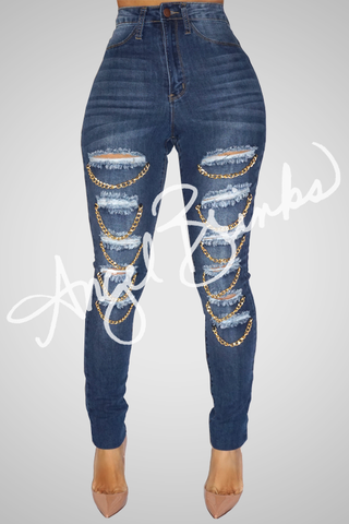 AB Chain Jeans