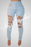 Glam Light Wash Jeans