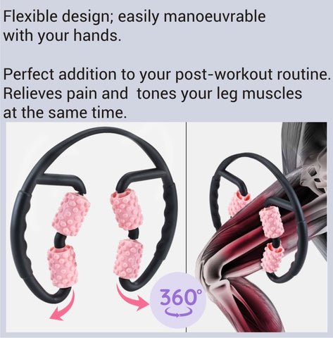 Relieves pain and tones your leg muscles at the same time