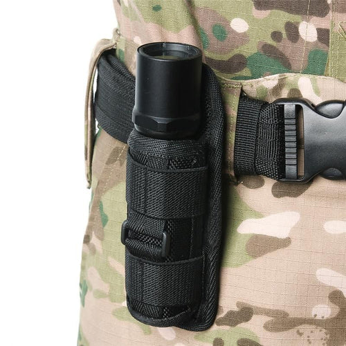 TACTICAL FLASHLIGHT BELT HOLSTER. - FlashlightX
