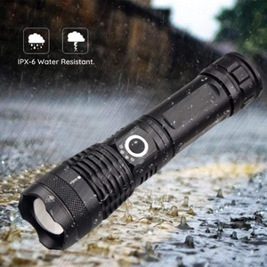 HIGH POWERED TACTICAL FLASHLIGHT. - FlashlightX