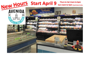 New Hours At Avenida Food Hall and Fresh Market in Calgary.