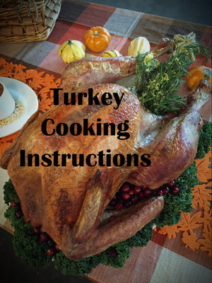 Turkey Cooking Instructions