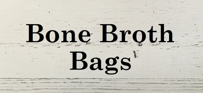 Chicken Bone Broth Bags 5 pkg