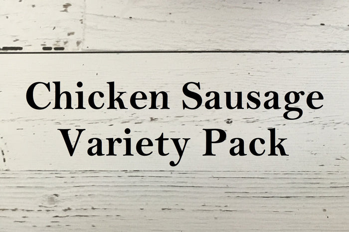 Chicken Sausage Variety Pack