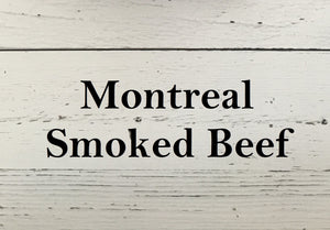Montreal Smoked Beef - 5 pkg
