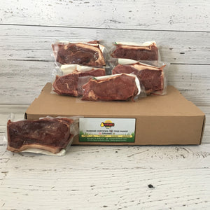 Beef Striploin Steak Box