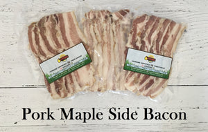 Pork Maple Side Bacon
