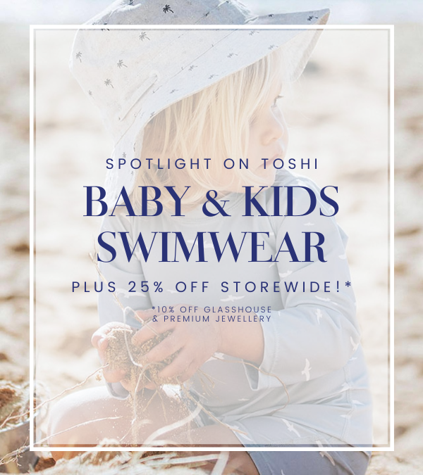 25% Off Baby & Kids Swimwear at Abbey Lane