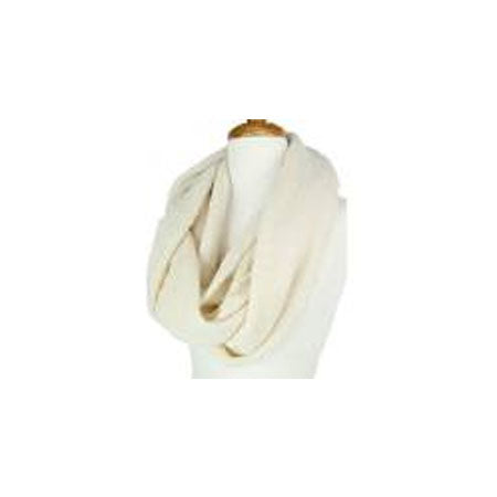 Cream Infinity Alpaca Scarf - Easter gifts for women