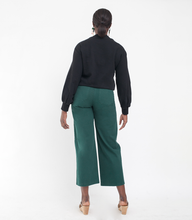 "Load image into Gallery viewer, Loup ""Toni"" High-Rise Pant in Forest Green"