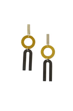 Load image into Gallery viewer, Natalie Joy Divided Line Earrings