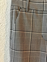 Load image into Gallery viewer, Velvet Plaid Straight Leg Plaid Pants