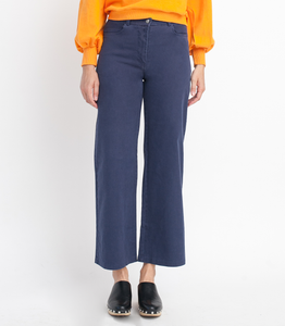 Loup Toni High-Rise Pant, Wide Leg and Zip Fly