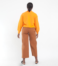 Load image into Gallery viewer, Loup Toni High-Rise Pant Wide Leg And Zip Fly In Tan