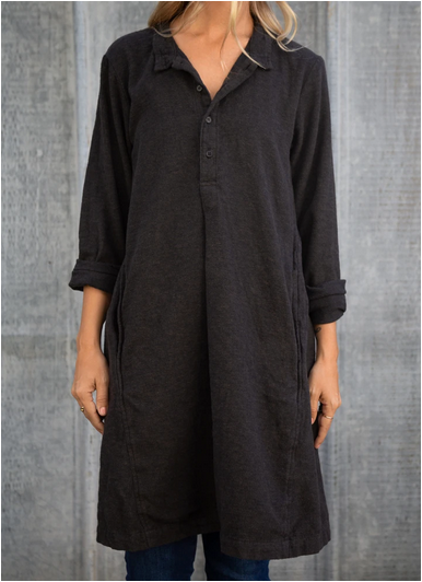 CP Shades Jasmine Tunic in Heathered Brown