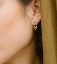 Load image into Gallery viewer, Claire Sommers Buck Meru Studs