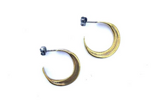 Load image into Gallery viewer, Claire Sommers Buck Gaia Hoops- Small