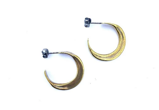 Claire Sommers Buck Gaia Hoops- Small
