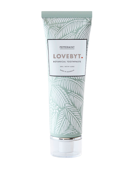 Peppermint Botanical Toothpaste