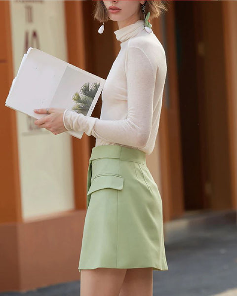 BUBL Skirt - lookmonk - skirt - woman - fashion - street - style