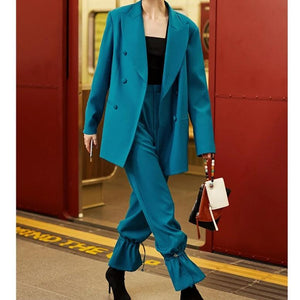RIPE Set - lookmonk - suit - woman - fashion - street - style