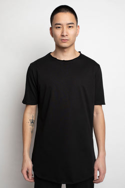 Finite Long T-Shirt - Black - VAYEV™ Streetwear Hypebeast