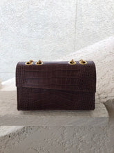 Load image into Gallery viewer, REOLA Croc Bag Mini - Brown