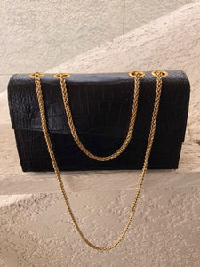 REOLA Croc Bag Mini - Black