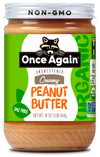 Once Again Organic Creamy Peanut Butter No Salt 16 oz