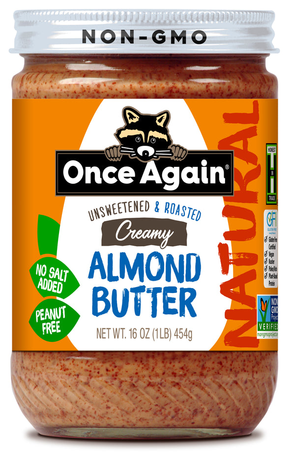 Once Again Natural Creamy Almond Butter 16 oz