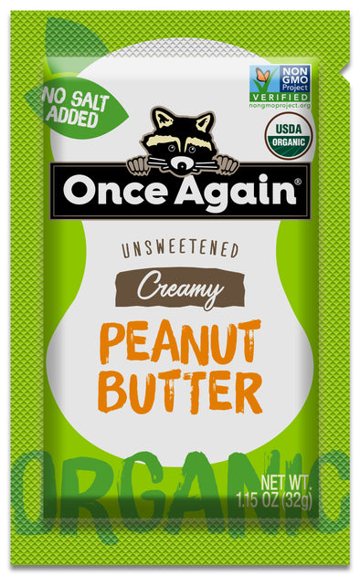 Once Again Organic Peanut Butter Squeeze Pack 10 ct