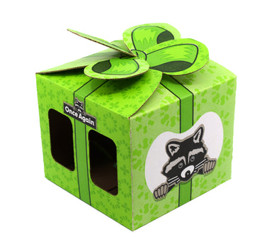 Once Again Gift Box, 9 Inch - Designed to fit Four 1lb Nut Butter Jars