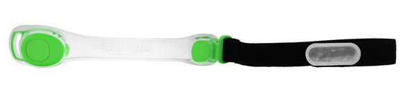 Once Again Light Up Running Arm Band - Green