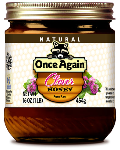 Natural Clover Honey - 12 oz