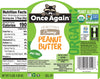 CLEARANCE Once Again Organic Peanut Butter Creamy No Salt 9 lb