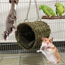 Load image into Gallery viewer, 3Pcs Parrot Cage Toy Squirrel Hamster Squirrel Hammock Bird Nest Swing Ladder