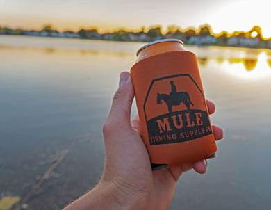 Mule Fishing Koozie