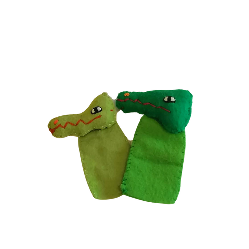 Crocodile Finger Puppet
