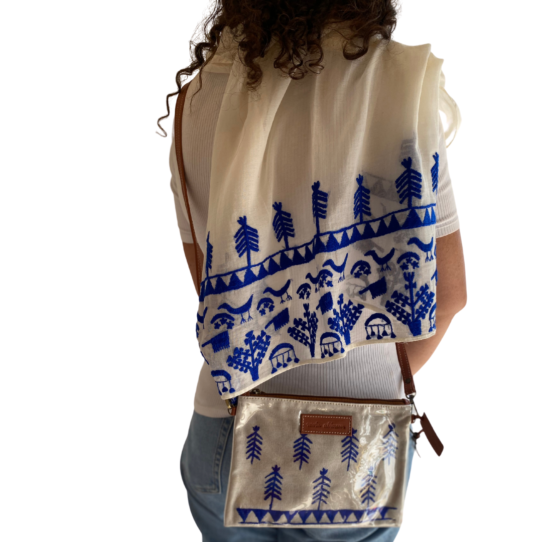 Shop the Look: Matching Nubian Cross Bag and Scarf