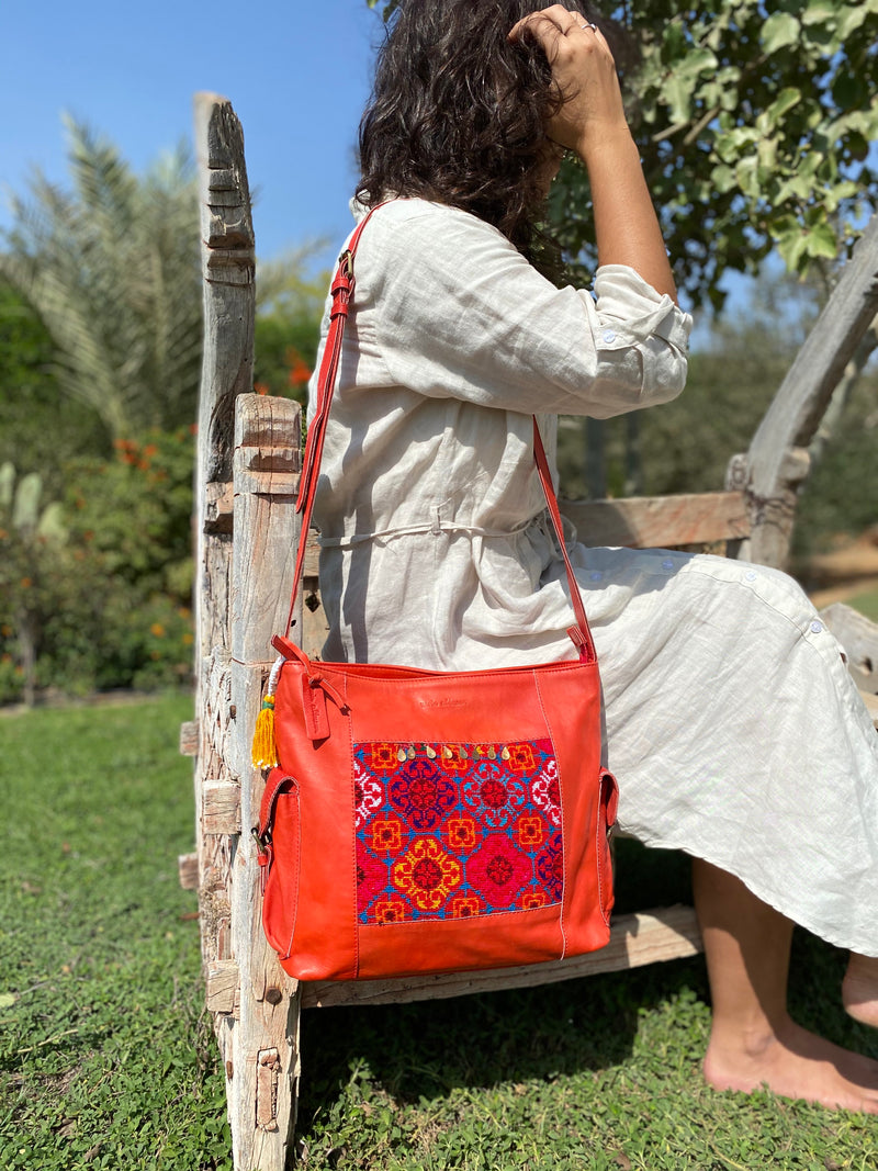 Rania Bag with Pockets
