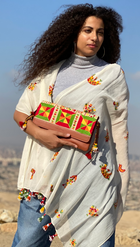 Shop the Look: Markeb Shawl and Siwa Clutch