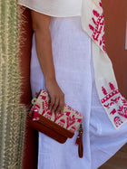 Shop the Look: Nubian Shawl and Clutch